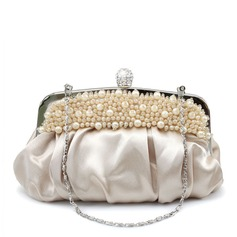 Gorgeous Satin Clutches (012016232)