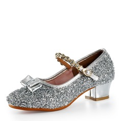 Kvinnor Glittrande Glitter Klackar Latin Dansskor (053175316)