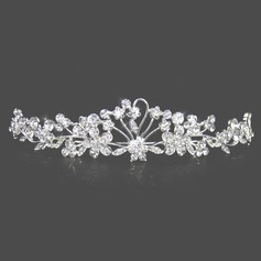 Attractive Clear Crystals Wedding Bridal Tiara (042004253)