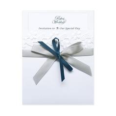 Classic Style Wrap & Pocket Invitation Cards med Bånd (Sæt af 10) (118040272)