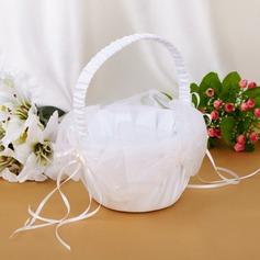 Bella Cesto di fiori con Nastri/Di faux perla (102039775)