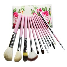 1 Hübsche 12Pcs Malen Sie Blumen Tasche Make-up Accessoires (046049538)