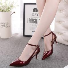 Donna Similpelle Tacco basso Sandalo Stiletto scarpe (087116172)