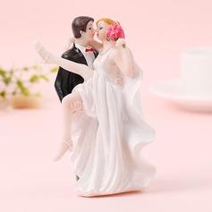 Coppia Classic/Sposa e Sposo Resina Decorazioni per torte (Venduto in un unico pezzo) (119187418)