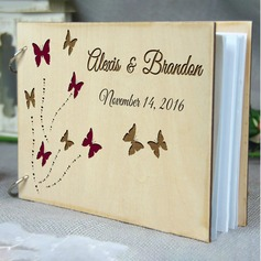 Personalized design Wood Guestbook (101198162)