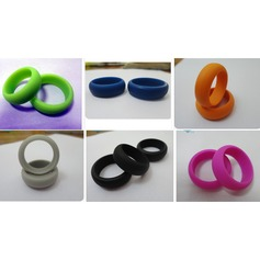 Modern Silikone Fashionable Resin Fashion Rings Gaver (129140558)