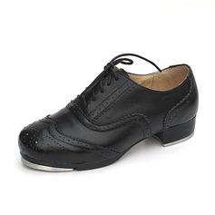 Unisex Microfaser-Leder Flache Schuhe Steppschuh Tanzschuhe (053087768)