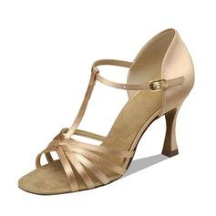 Donna Raso Tacchi Sandalo Latino con Con Listino a T Scarpe da ballo (053090355)