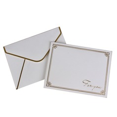 Modern Style Side Fold Thank You Cards (Set of 50) (114205159)