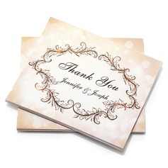 Personalized Artistic Style Thank You Cards (Set of 50) (114054975)