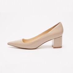 Frauen Lackleder Stämmiger Absatz Absatzschuhe Schuhe (085102136)