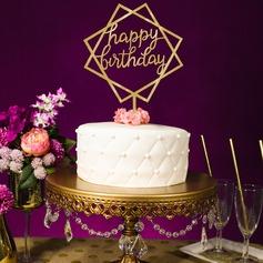 Buon compleanno Acrilico Decorazioni per torte (119154798)