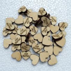 Hjertet udformning Dejligt Træ Dekorativt tilbehør (131124909)