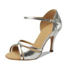 Donna Similpelle Tacchi Sandalo Latino Scarpe da ballo (053090351)
