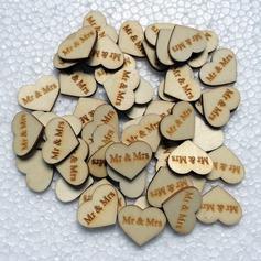 Hjertet udformning Træ Dekorativt tilbehør (131124906)
