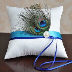 Lovely Ring Pillow in Cloth With Feather (103190791)