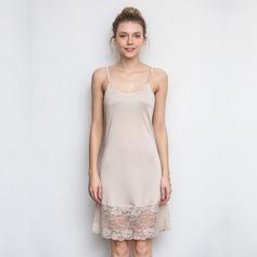 Lace/SilK Feminine Sleepwear (041198466)