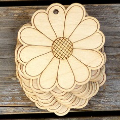 Unfinished  Blank   Wooden Easter Cutouts Ornaments to Paint   (Set of 10) (129154533)