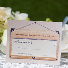 Personalized Modern Style Response Cards (Set of 50) (114063949)
