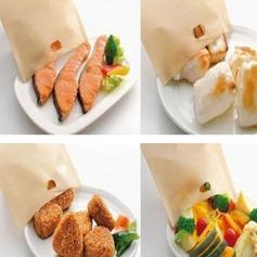 personnalisé Traite des sacs à griller réutilisables sans bâche pour le sandwich et le grillage (Lot de 6) (051139901)
