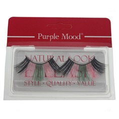 1 Pair Mix Color Shimmer Cannetille Style False Eyelashes CFE452 (046049671)
