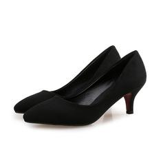 Frauen Wildleder Stöckel Absatz Absatzschuhe Schuhe (085102228)