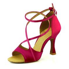 Donna Raso Tacchi Sandalo Stiletto Latino Scarpe da ballo (053095729)