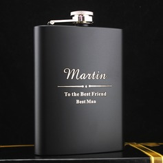 Flasks Classic Stainless Steel Vintage Style Personalized Gifts (129092494)