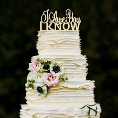 Dolce Amore Legno Decorazioni per torte (119187772)