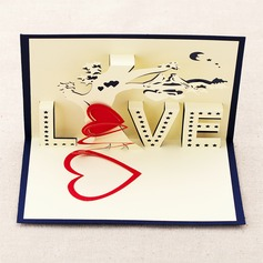 Three-dimensional Tree of Love Greeting Cards (114042511)