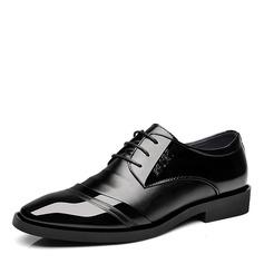 Maschile Similpelle Cap Toes Allacciato Scarpe da sera Oxford da uomo (259173586)