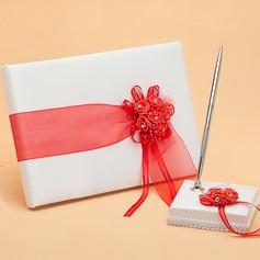 Fiori Design Nastri/Fusciacche Guestbook & Set di penne (101048735)