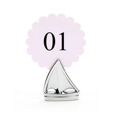 Segel Zink-Legierung Platz-Kartenhalter (4-er Set) (051023572)