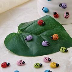 Escarabajo forma Madera Pegatinas (Juego de 100 piezas) (051053236)