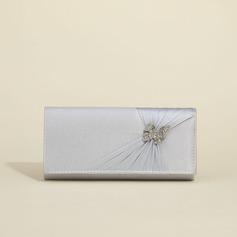 Fashional Silke med Rhinsten Koblinger (012010424)