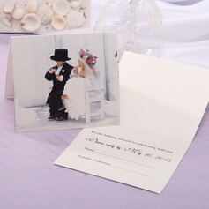 Personalized Modern Style Top Fold Response Cards (Set of 20) (114063921)