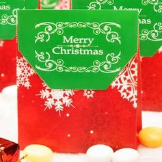 Buon Natale Carta della carta Scatole di Favore (set di 12) (050146432)
