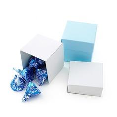 Semplice Cubi Scatole di Favore (set di 24) (050024338)