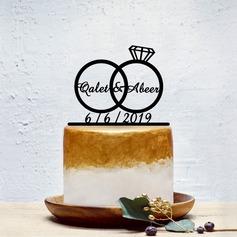 personnalisé Couple classique Acrylique Décoration pour gâteaux (119202091)