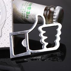 Unpersonalisierte Thumb Entwurf Legierung Flaschenöffner (052124514)