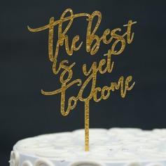 It Must Be Love Acrilico Decorazioni per torte (119157007)