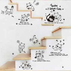 Cartone animato semplice PVC Home decor (Venduto in un unico pezzo) (203168080)