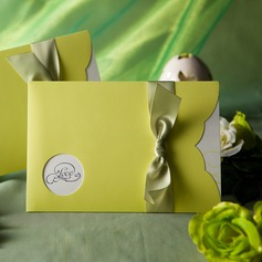 Classic Style Wrap & Pocket Invitation Cards With Ribbons (Set of 50) (114031516)