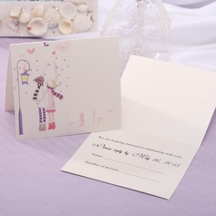 Personalized Fairytale Style Top Fold Response Cards (Set of 20) (114063918)