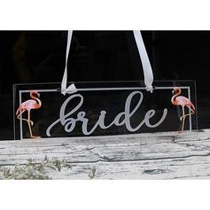 dello sposo & Style/Bella Rettangolare Acrilico (Set di 2) (051175004)