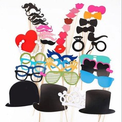 Funny Maske skæg Papir Photo booth rekvisitter (44 stuks) (131151580)