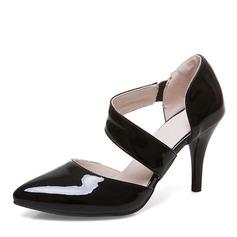 Donna Similpelle Tacco a spillo Sandalo Stiletto Punta chiusa con Altrui scarpe (085168413)