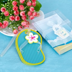 Shoes Design Rubber Luggage Tags With Ribbons/Tag (051020300)