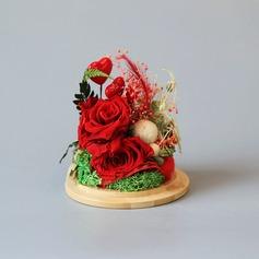 Cadeaux creatifs Style Classique Fleur En Soie Élégante Cadeaux (129191583)
