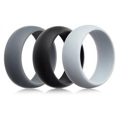 Modern Silikone Fashionable Resin Fashion Rings (Sæt af 3) Gaver (129140549)